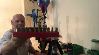 Lee Classic Turret Press and Lee 45acp 230gr First Loading on the New Reloading Bench