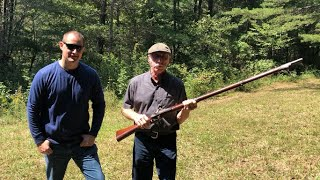 On the range with Marvin and some classic guns Part 1