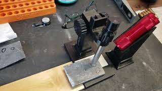 Using The TRN/Loads Of Bacon Lee Hardness Testing Stand