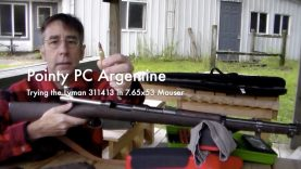 WCChapin | Pointy PC Argentine – Trying the Lyman 311413 in 7.65×53 Mauser