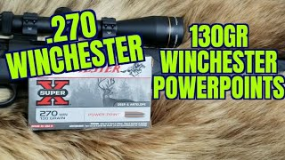 .270 130gr Winchester Powerpoints Review
