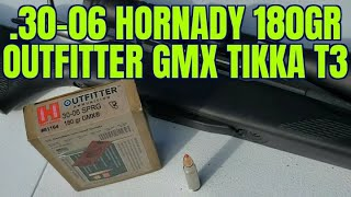 .30-06 Hornady Outfitter 180gr GMX Review