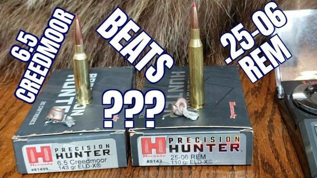 6.5 Creedmoor vs. 25-06rem Episode 2: Hornady Precision Hunter ELDX