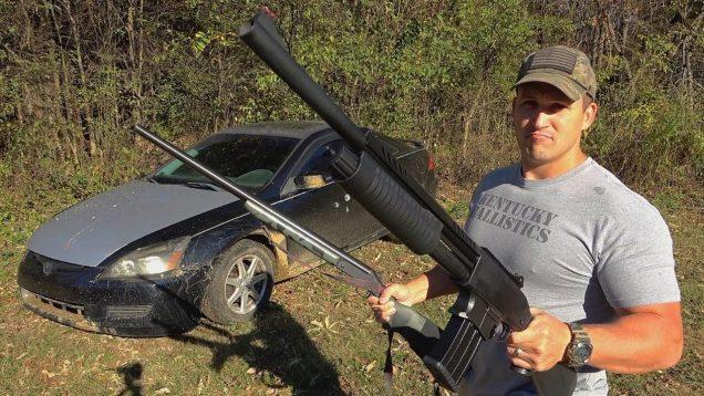 Big Shotgun vs BIGGER Shotgun 💪