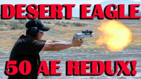 Coated Cast in the 50AE Desert Eagle? (50AE Video Redux)