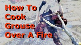 How To Cook Grouse Over A Fire (the original fast food)