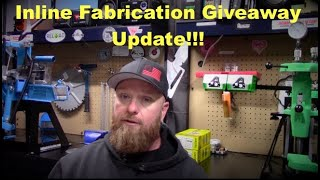 InLine Fabrication Giveaway Update