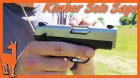 Kimber Solo Struggles from Nope to OK – Ups and Downs of the Kimber Solo Carry