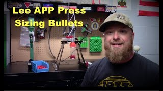Lee APP Press Sizing 9mm – Breech Lock sizing die