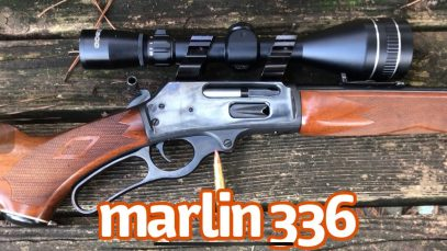 The Marlin 336 Lever Action Carbine in 30-30 Win