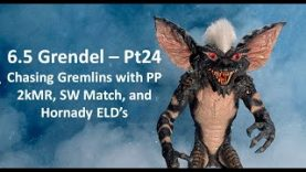 6.5 Grendel – Pt24:  Chasing Gremlins with PP 2kMR, SW Match, and Hornady ELD's