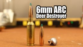 6mm ARC Deer Load – 90gr Sierra Game Changer with LeverEvolution