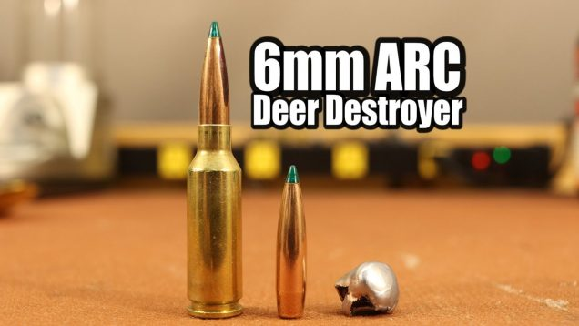 6mm ARC Deer Load – 90gr Sierra Game Changer with LeverEvolution