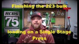 Bulk Single Stage Loading Pt 5