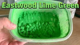 Eastwood Lime Green Powder Coat on 380acp Bullets