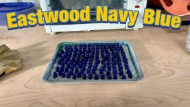 Eastwood Navy Blue Powdercoat on 9mm and 45acp