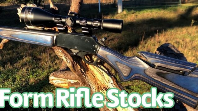 Form rifle stocks on the 336 Marlin lever action
