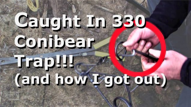 Hand Caught In a 330 Conibear Trap!!! (and how I got out)