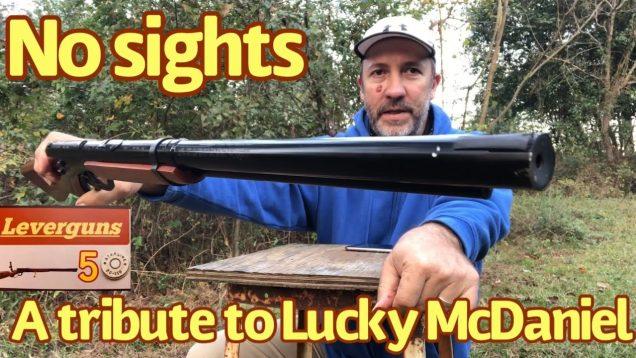 Lucky McDaniel's basic-training program with the sightless BB gun