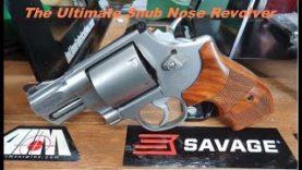S&W 629 Snub Nose: Ransom Rest Accuracy: The Ultimate Defense Revolver