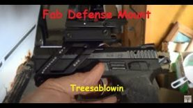 Fab Defense Mount and AIM Red Dot