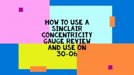 HOW TO USE A SINCLAIR CONCENTRICITY GAUGE