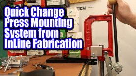 InLine Fabrication Quick Change Press Mounting System