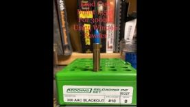 Lead Cast Bullets 155gr for 300blk Using Win296 Powder