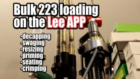 Loading 223 on the Lee APP – Start to Finish