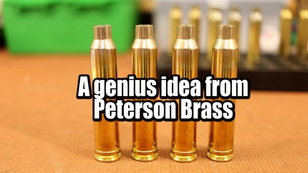 Peterson Long 300 Win Mag Brass