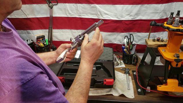 Ruger New Vaquero Bisley 45LC Revolver