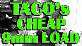Taco's Money Saver 9mm Load (115gr Coated Cast 9mm BR-5)