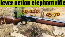 The lever action elephant rifle, and how it come to me
