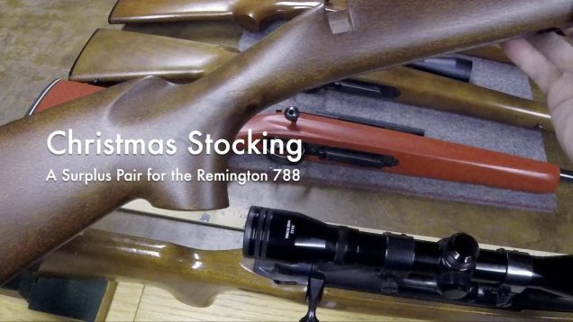 WCChapin | Christmas Stocking – A Surplus Pair for the Remington 788