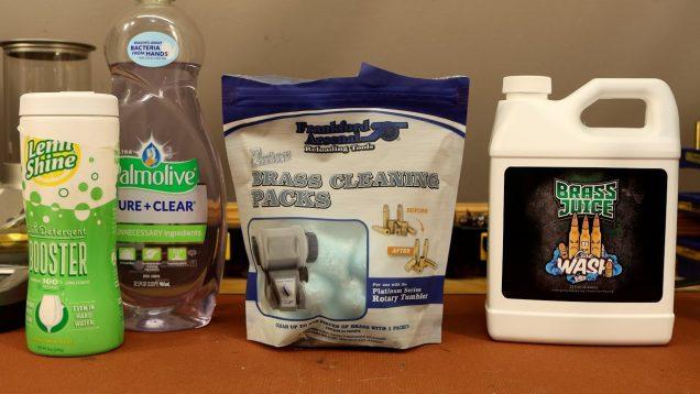 Wet Tumbling Test – Brass Juice vs FA Cleaning Packs vs Dish Soap