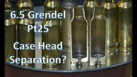 6.5 Grendel Pt25  – Signs of Case Head Separation?