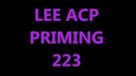ACP PRIMING 223
