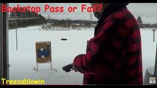 Backstop  Pass or Fail