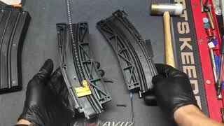 Converting CMMG 10rd mags to 25rds for AR15 22lr