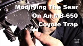 Modifying The Sear On An MB-650 Coyote Trap