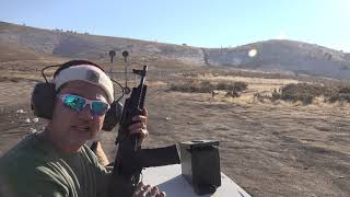 Range Day w/ Converted/Restored 223 Saiga Rifle out to 300 Yards
