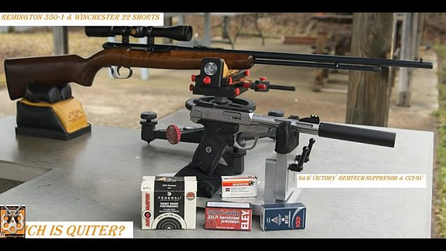 Remington 550-1 and Winchester 22 Short