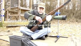 WCChapin | December Day – 100 Yard Plinking with the CMP Special M1 Garand