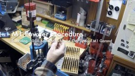 WCChapin | M1 Powder Procedure – Reloading  .30-06 Ammunition for the CMP Special M1 Garand