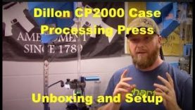 Dillon CP2000 – Unboxing and Quick Setup