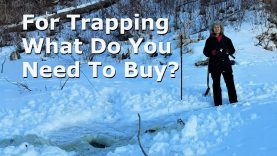 For Trapping What Do You Need To Buy?