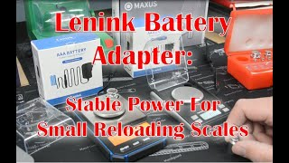 Lenink Power Adapter: Stable power for small electronic reloading scales