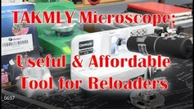 Takmly microscope review- A useful and affordable tool for reloaders