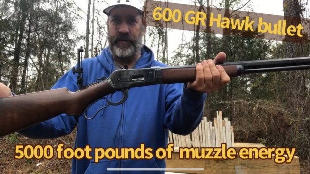 600gr Hawk bullet for the 50-110 WCF, 1886 Winchester lever action