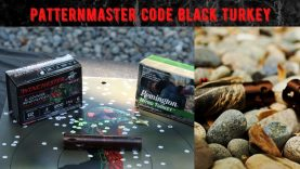 Code Black Turkey Pattern Test, Long Beard XR vs Remington Nitro, Patternmaster! Benelli M2